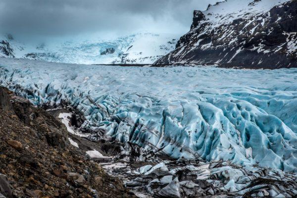 Island magischer winter