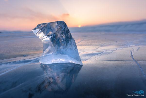 "Lago Baikal ""Cristalli di ghiaccio"", febbraio 2019"