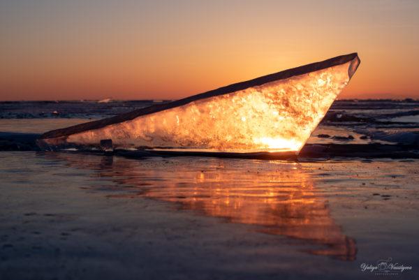 "Lago Baikal ""Cristalli di ghiaccio"", febbraio 2020"